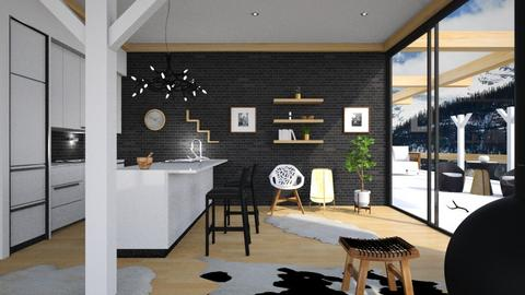 Scandinavian Kitchen - by ritsa