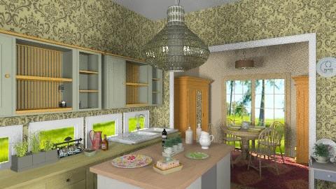 Provence kitchen - Country - Kitchen - by milyca8