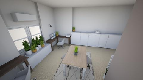 Attic Office Reno 4 - Office - by stephz