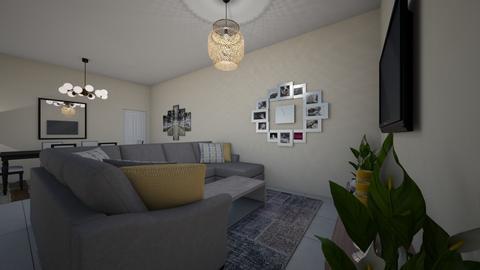 living room 4 - Modern - by belaye