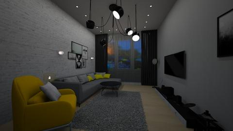 our - Living room - by chaimae saidoun