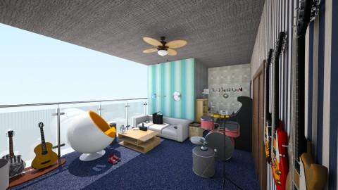 loft bedroom - Bedroom - by ballerina1