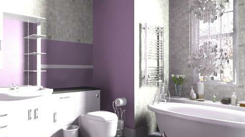 Pendant Shower re-done - Classic - Bathroom - by hunny