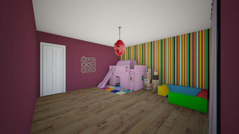 kidsroom12 - Feminine - Kids room - by Josef Bob