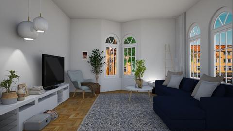 maj i stockholm  - Living room - by wilmaskold
