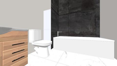 Chelsie master bathroom - Modern - Bathroom - by mokker01