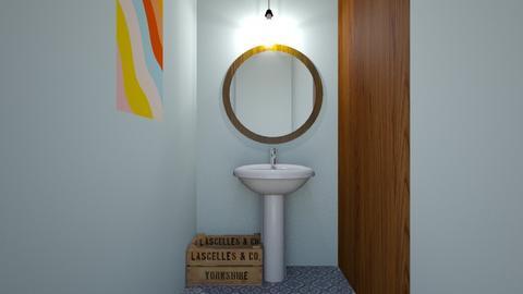 Moms powder room - Bathroom - by LightLuzLux