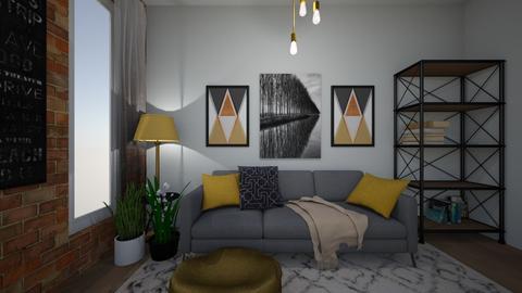 Boho Living  - Living room - by elizabeth_gr00