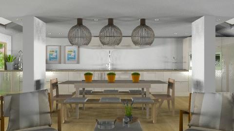 Scandanavian Dream - Minimal - Dining room - by Carliam