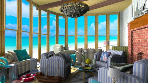 Beach House Sea View - Eclectic - by Trimble Official