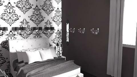 My grey bedroom... - Eclectic - Bedroom - by Irena_S