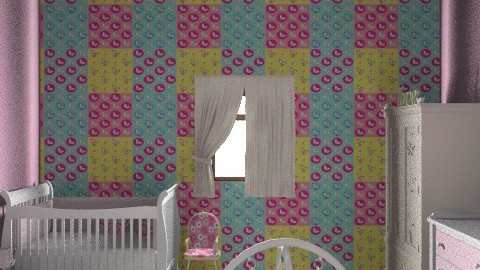 baby girl bedroom - Feminine - Kids room - by malou84
