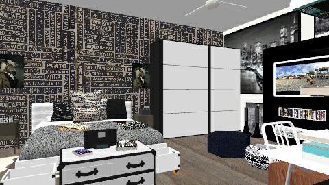 Teen room - Modern - by sophiesweetie8