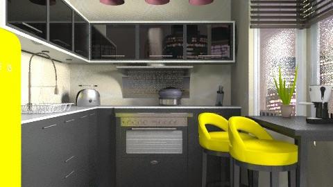 Little Modern - Modern - Kitchen - by channing4