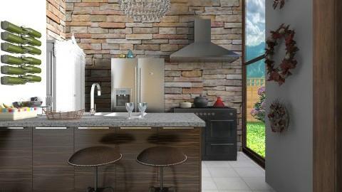 Kitchen Bar - Modern - Kitchen - by 3rdfloor