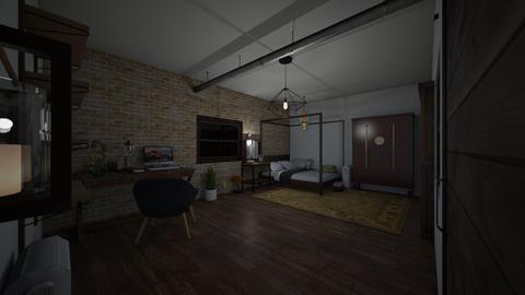 casa Choy  M - Vintage - Bedroom - by Lola_triana