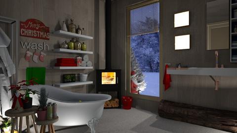christmas scandi corner - Global - Bathroom - by donella