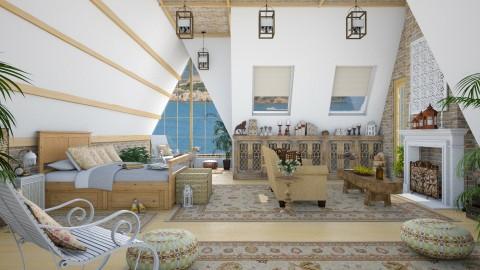 Design 165 Attic Loft - Bedroom - by Daisy320