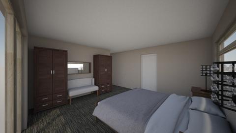 Master bedroom bathroom - Modern - Bedroom - by dennisuello