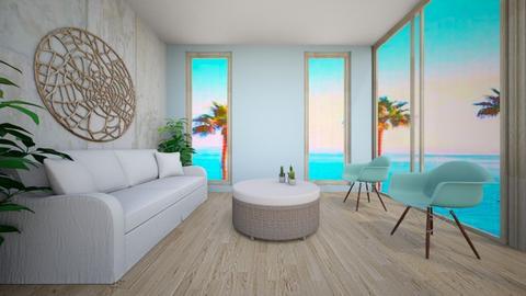 Beachy Living - Living room - by Designer2424