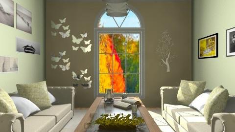 Holiday tea - Glamour - Living room - by anjuska9