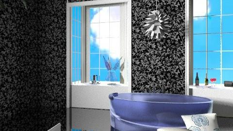 Black Bathroom - Minimal - Bathroom - by Natalia15