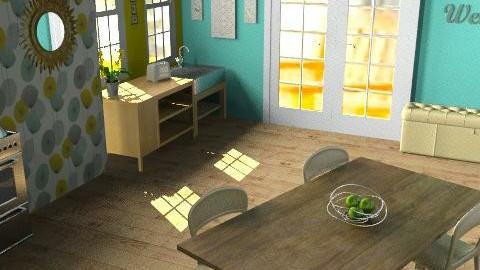 cottage kitchen - Classic - Kitchen - by kendra_b