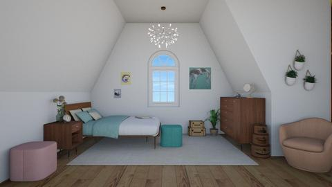 Attic - Kids room - by Tabitha Knight