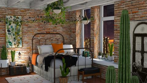 my garden - Bedroom - by soralobo