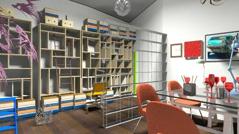 abstract office - by Graff