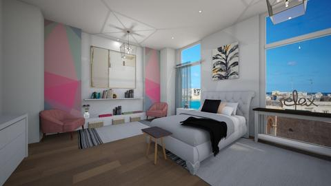Geometric - Bedroom - by racheycakes38