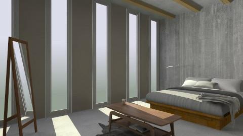 Basic 003 - Minimal - Bedroom - by joshuafoley