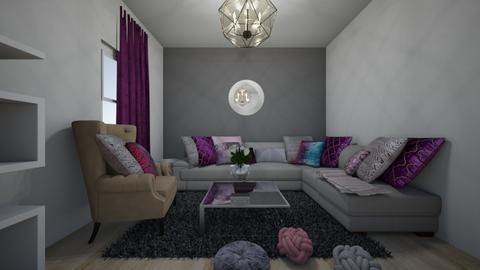 salon - Living room - by jouana