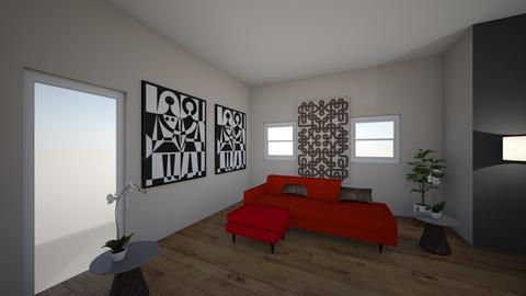 modern Living cjb3 - Living room - by hlizars