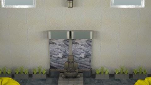 Templo en el patio - Eclectic - Garden - by sacerdote