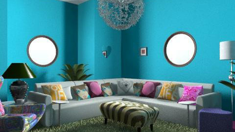 kaylies room - Retro - Living room - by natural11