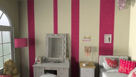 Sophisticated girl room - Glamour - Kids room - by paolafa