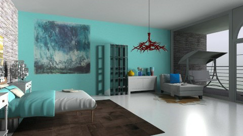 bed room - Modern - Bedroom - by hemelehem