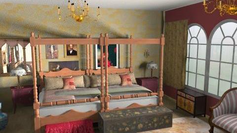 royal - Rustic - Bedroom - by chelseajade