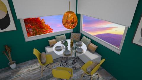 Dining Corner - Dining room - by HeidiNel
