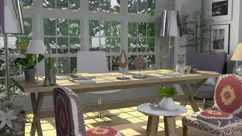 Studio 1 - Eclectic - Office - by du321