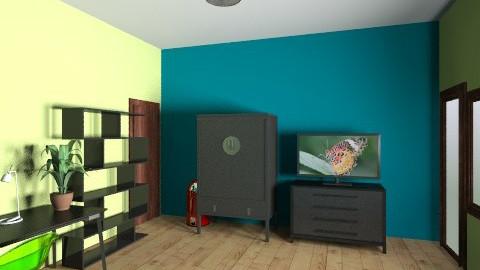 My Room - Retro - Bedroom - by Pokrivka Hrvoje