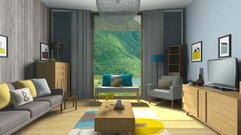 Lowes - Retro - Living room - by camilla_saurus