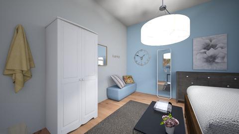 Teenager bedroom - Bedroom - by roos_kusje