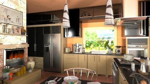 Heart of the House - Modern - Kitchen - by Bibiche