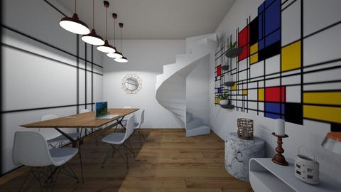 loft living room - by gmazzocchi