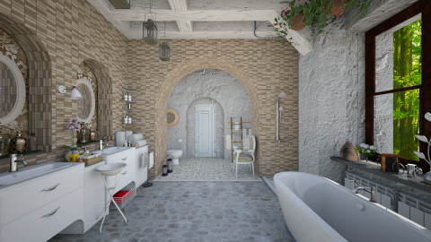 Virtual bathroom  - Modern - Bathroom - by Ida Dzanovic