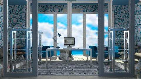 Glass office - Modern - Office - by mrschicken