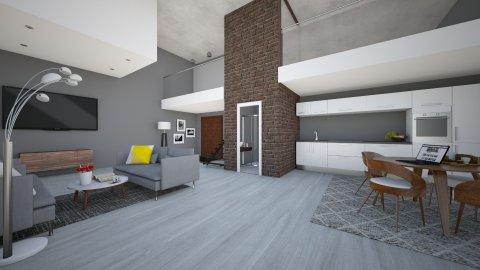 BARCELONA STUDIO  - Living room - by MadebyG