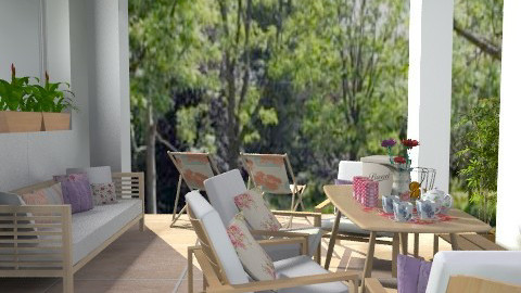 Deck PicnicArea  - Country - by jackiefruit